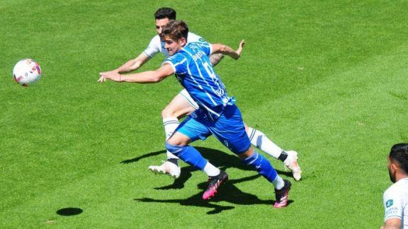 Godoy Cruz rescató un punto ante Sarmiento con un gol en offside