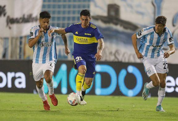 Boca le ganó a Atlético Tucumán y se mete en la pelea