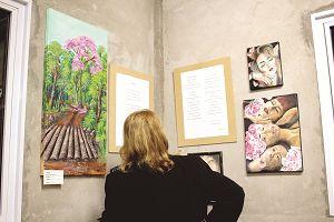 Poesía para ver: un encuentro de literatura y arte