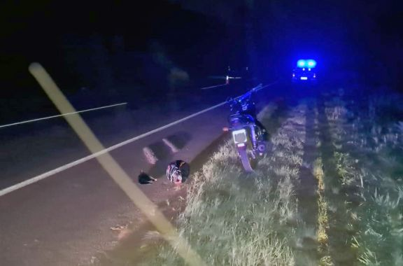 San Martín: un motociclista murió arrollado por camionero que luego huyó