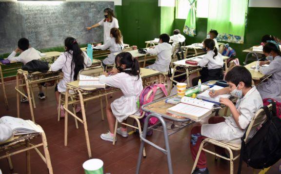 Así fue el regreso de los alumnos a la presencialidad plena en Misiones