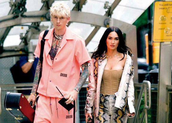 Megan y Machine, pasearon por NY