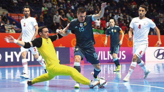 Futsal: Argentina ganó y terminó arriba en el grupo F
