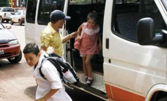 Aumenta la tarifa de los transportes escolares