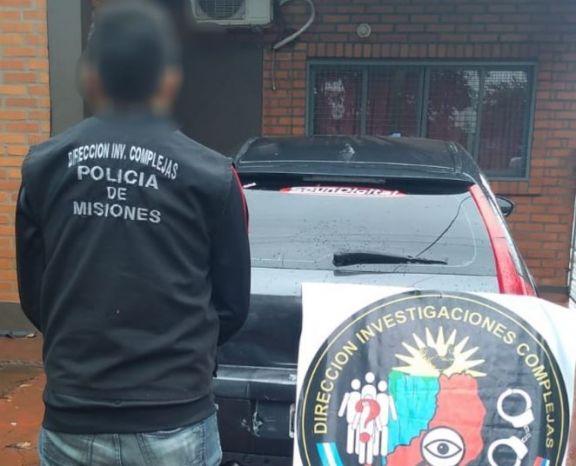 Garupá: cayó un tercer involucrado en la venta de autos de alta gama robados en Buenos Aires