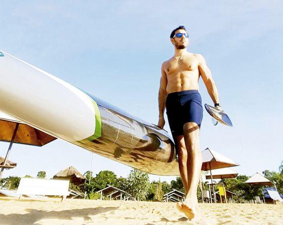 Mauri Cardozo, a punto para maratón mundial de canotaje