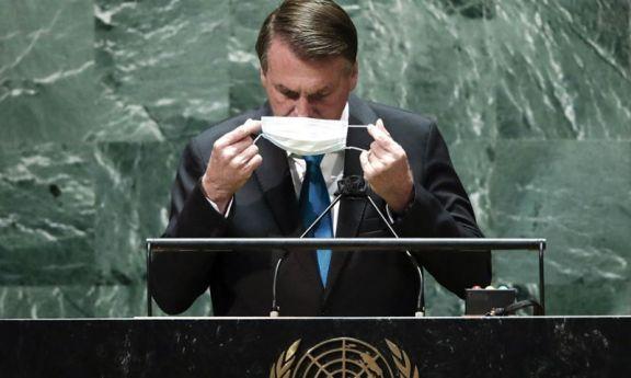 Bolsonaro aislado luego de que un ministro se contagiara en la Asamblea de la ONU