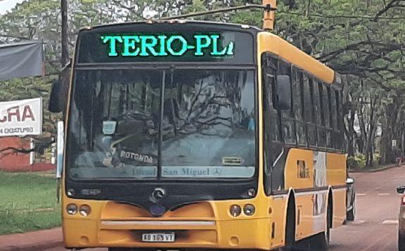 A partir del lunes aumenta el boleto urbano en Montecarlo