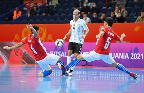 Argentina goleó a Paraguay y jugará contra Rusia en los cuartos del Mundial de Futsal