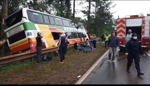 Accidente en Roca: Se conoció la lista de los heridos y fallecidos