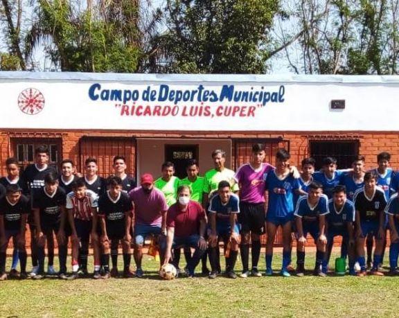 Wanda: con 46 equipos y cinco categorías comenzó el campeonato de fútbol Infanto Juvenil