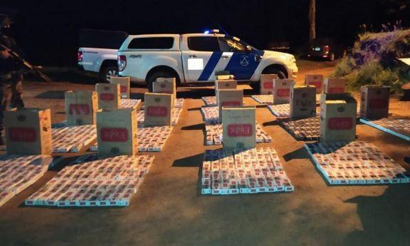 Secuestran cigarrillos y mercadería ilegal en Corpus