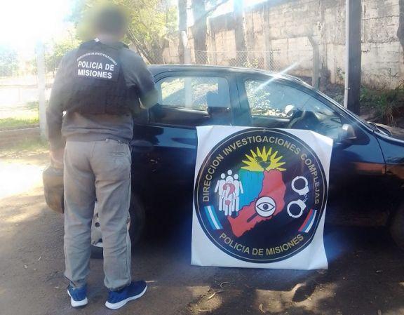 Posadas: incautan vehículo robado en Buenos Aires