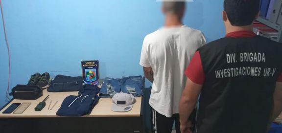 Capturaron en Iguazú a un hombre dedicado a robar con inhibidores de señal