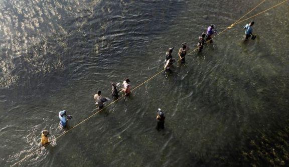 """La ruta de los haitianos hasta el límite con EEUU: """"Toman agua del mismo río donde ven morir gente"""""""