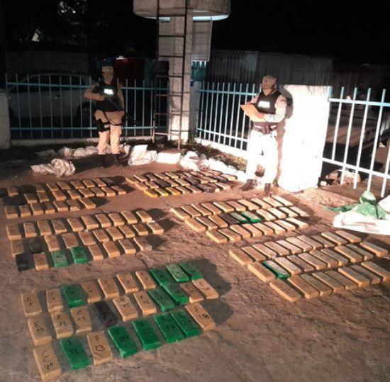 Incautan más de 183 kilos de marihuana en procedimientos realizados en Misiones y Corrientes