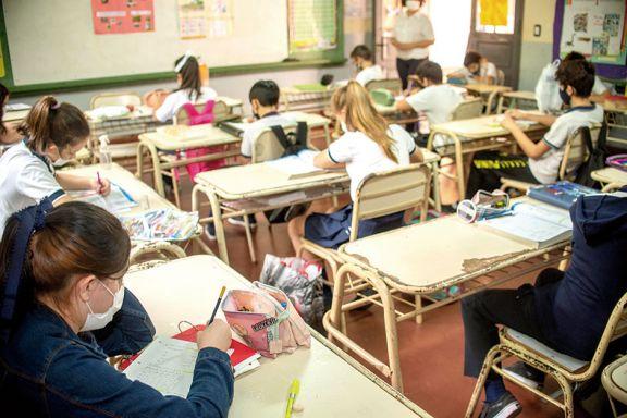 En los primeros 15 días de septiembre hubo sólo diez positivos en escuelas