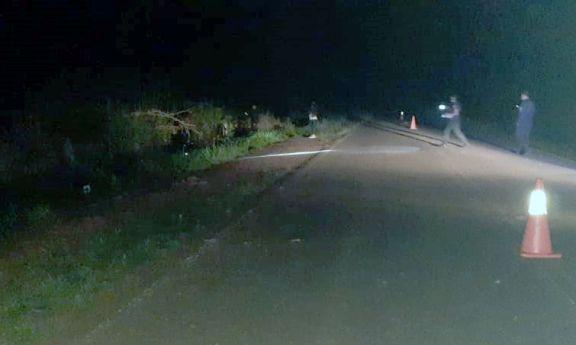 Motociclista murió al despistar sobre la ruta provincial 19 en Andresito
