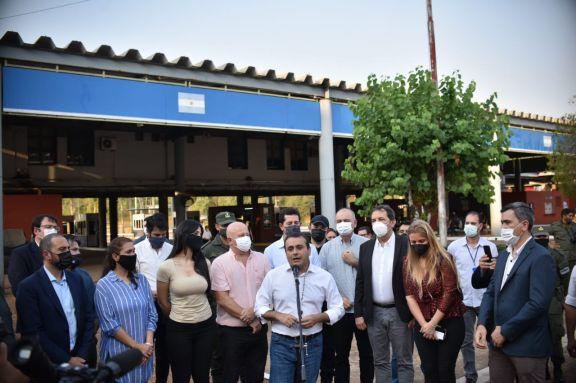 Herrera Ahuad: el objetivo es abrir los 20 pasos fronterizos con la misma responsabilidad sanitaria