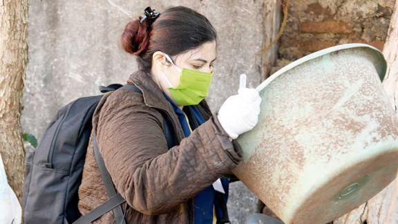 Aedes: esperan reducir los índices de criaderos que arrojó mayo
