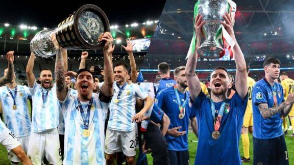 Oficial: habrá duelo de campeones entre Argentina e Italia en junio de 2022