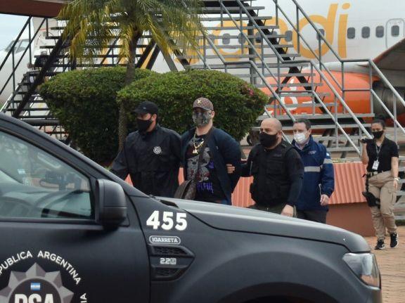 Narco brasileño con aceitados vínculos que operaría desde Misiones fue detenido en el aeropuerto de Posadas