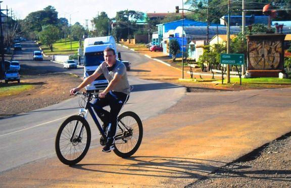 Taller sobre aportes del ciclismo a la movilidad urbana y sustentable en Irigoyen