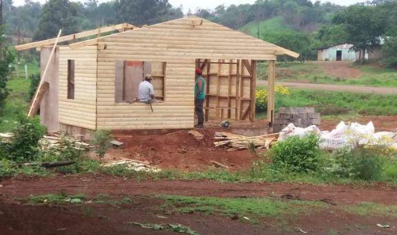 Pozo Azul: vecinos recaudan donaciones para terminar de construir un destacamento policial