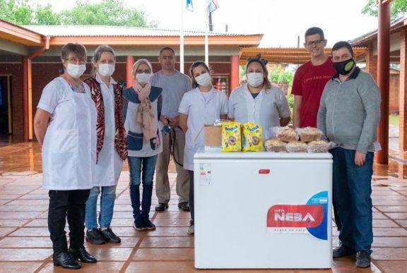 La cooperativa de Servicios Públicos de Andresito realizó donaciones a escuelas de la localidad