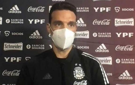 Scaloni y su mirada del camino a Qatar, tras el empate en Asunción