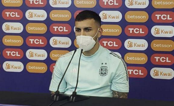 "Paredes: ""Solo faltó el gol para ganar"""
