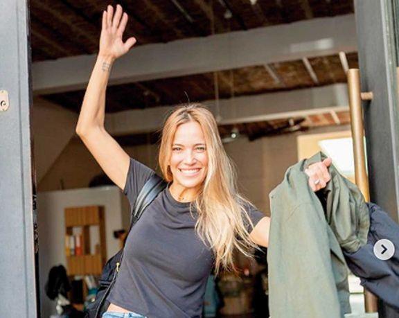 Luisana llegó con su familia a Buenos Aires para filmar nueva serie