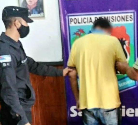Hombre fue detenido por agredir con un palo a su propia madre en San Javier