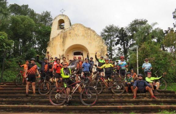 Pasó la primera jornada de cicloturismo en Puerto Libertad