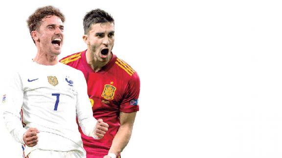 La juventud de España desafía a Francia en la final de la Liga de las Naciones