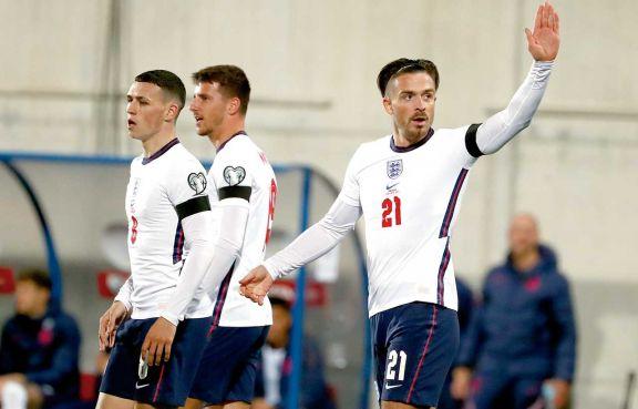 Inglaterra y Dinamarca quedaron a un paso de la clasificación a Qatar 2022