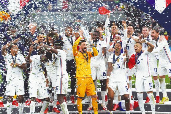 Francia venció a España y se quedó con la Liga de las Naciones de Europa