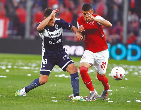Independiente no pasó del empate ante su gente frente al Lobo