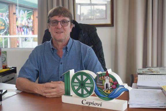 """Arnhold: """"Capioví es un pueblo con mucha historia y esfuerzo"""""""