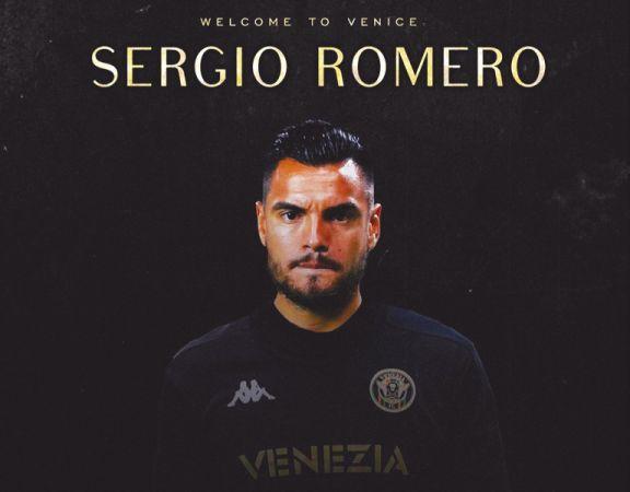 Chiquito Romero fue oficializado en el Venezia