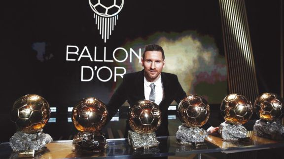 Lionel Messi es el gran favorito a quedarse con el Balón de Oro 2021