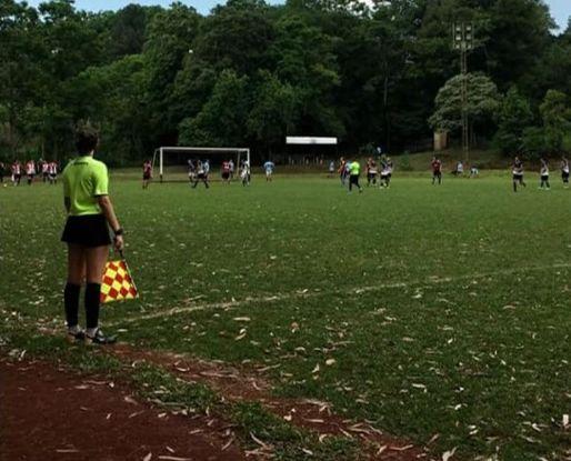 Jueza de línea de Oberá denunció  a un futbolista