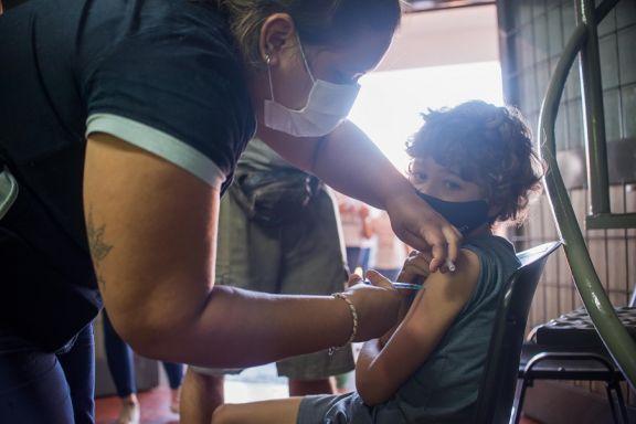 Más de 7.700 chicos de 3 a 11 años ya se aplicaron la vacuna contra el Covid-19 en Misiones
