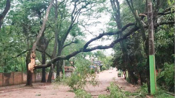 Decenas de familias fueron asistidas en misiones por el temporal del miércoles