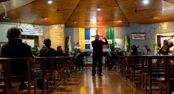 Johann Strauss Jr. y Mozart sonarán en la parroquia Inmaculado Corazón, en Villa Cabello