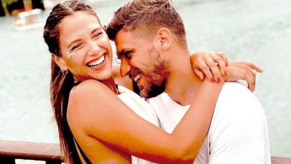 Barbie Vélez y Lucas Rodríguez disfrutan en México su luna de miel