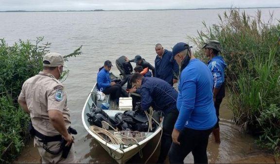 Hallan el cuerpo de uno de los desaparecidos en Isla Apipé