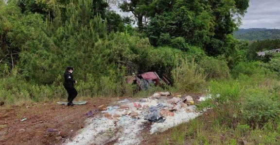 Una mujer falleció tras despistar con su camioneta en Campo Grande