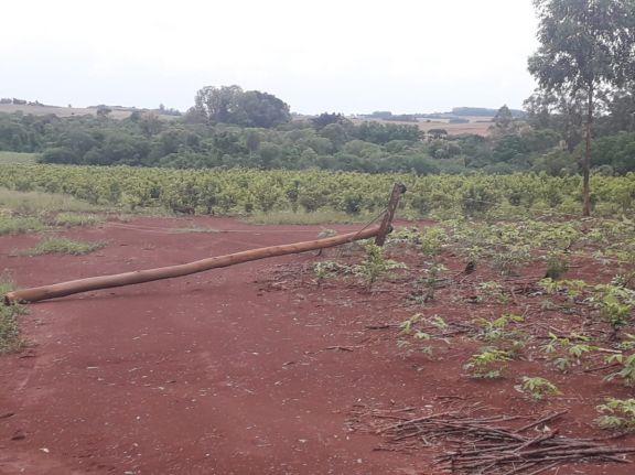 Andresito: algunas colonias permanecen sin energía desde el temporal del miércoles