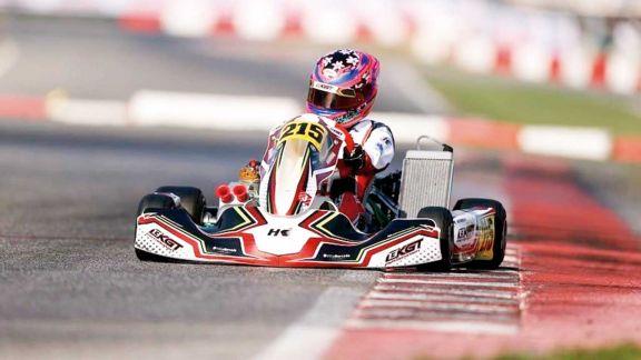 Karting: Mairu cumplió una gran actuación en Italia